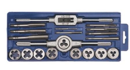 Набор инструментов для нарезки резьбы