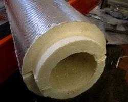 Минераловатная фольгированная скорлупа