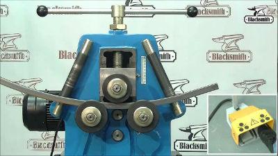 Электрический промышленный трубогиб для профильных труб