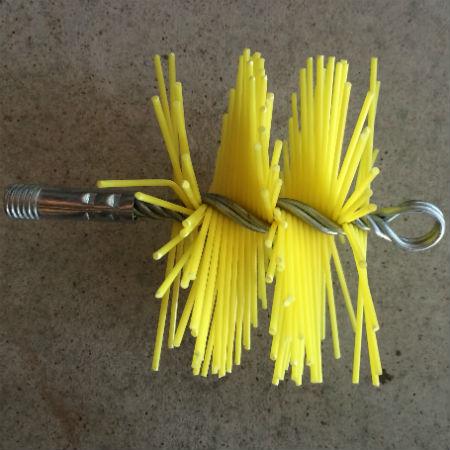 Ершик для труб с пластиковыми щетинками