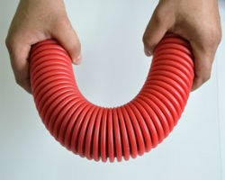 Пластиковая гофрированная труба
