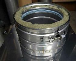 Утепленная труба из стали