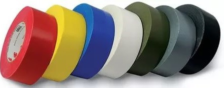 Разноцветная лента для изоляции