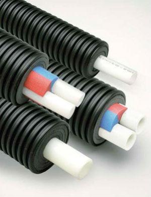 Для изоляции труб используется и вспененный полиэтилен