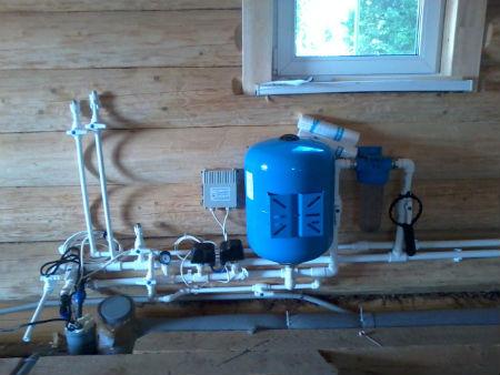 Разводка труб водопровода в частном доме