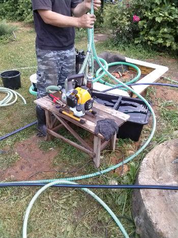 Подключение компрессора к трубопроводу