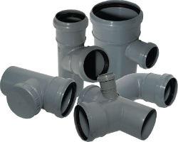Тройники для ПВХ канализации