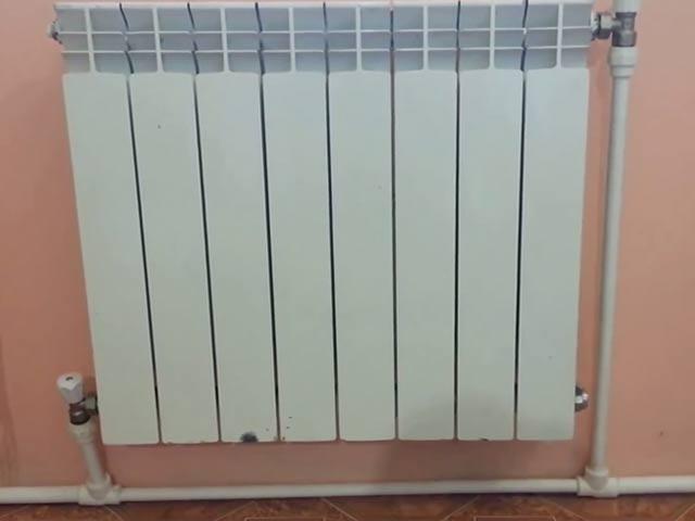 Подключение радиатора в однотрубной системе отопления