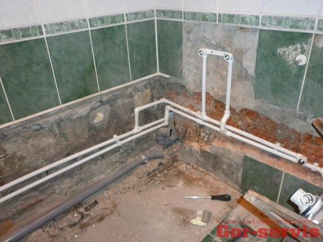 Последовательная схема подключения водопровода