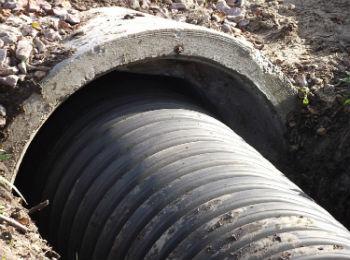 Муфта для бетонной трубы