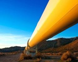 Магистральный наземный газопровод