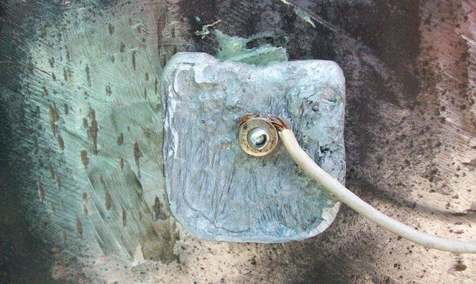 Подключение электродов катодной защиты к трубопроводу