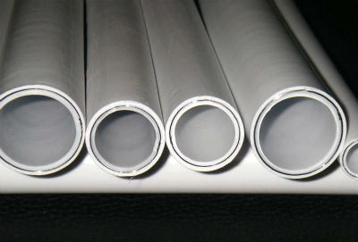 Металлопластиковые трубы в разрезе
