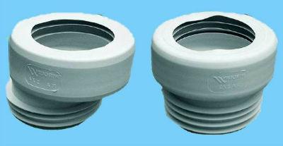 Резиновая манжета для подключения унитаза к канализации