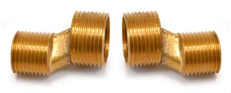 Переходники для труб разного диаметра, латунные