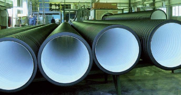 Готовые трубы Корсис на производстве