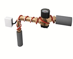 Электрический греющий кабель защитит трубы от замерзания