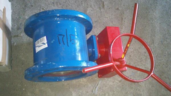 Крупногабаритный шаровой кран ду200