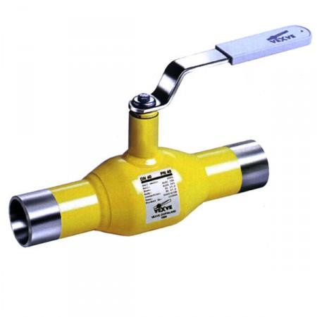Полнопроходной шаровый газовый кран
