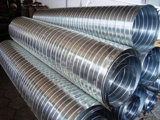 Гофрированные трубы из алюминия
