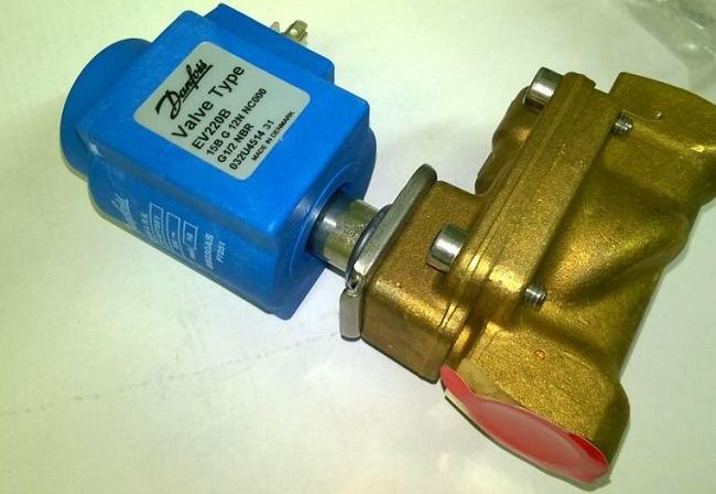Электромагнитный запорный клапан от Danfoss