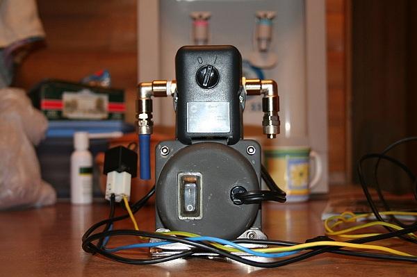 Использование цанговых фитингов для подключения компрессора