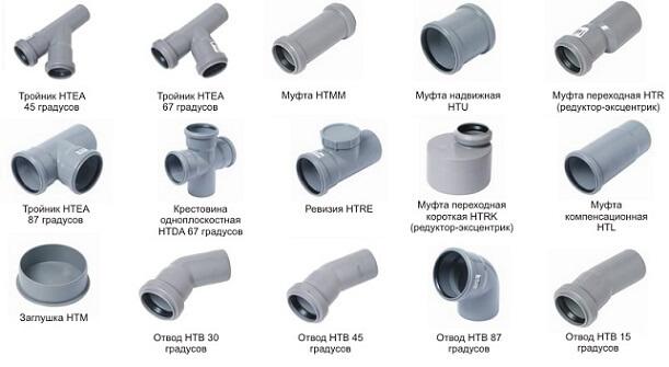 Сварные фитинги для ПВХ труб