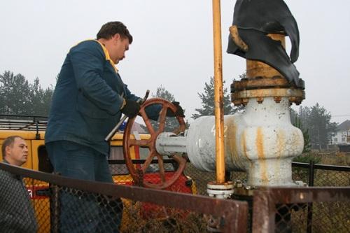 Стальная клиновая задвижка 30с41нж для газопроводов