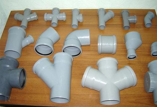 Фитинги для труб канализации (тройники, отводы, крестовины)