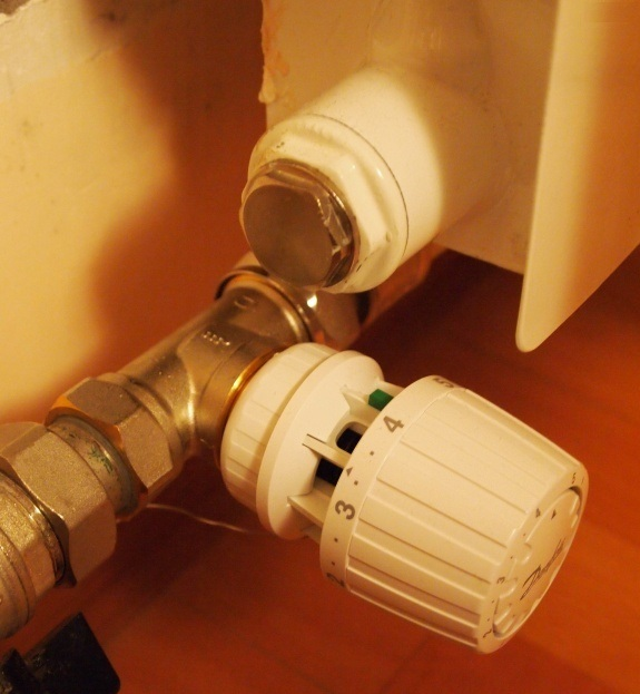 Вентиль термостатический прямой