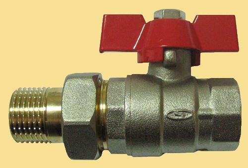 Шаровой кран для водопровода со сгоном