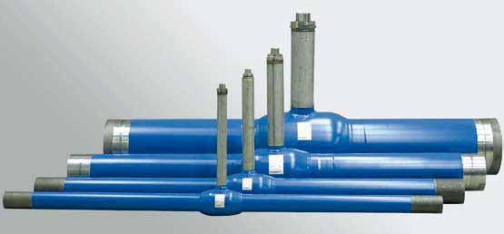 Кран навал для подземных трубопроводов