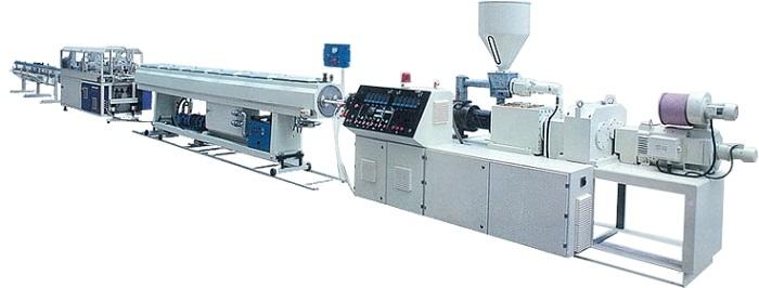 Производственная линия по изготовлению ПНД труб