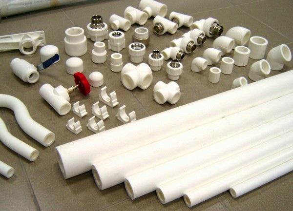 Пластиковые фитинги к полипропиленовым трубам