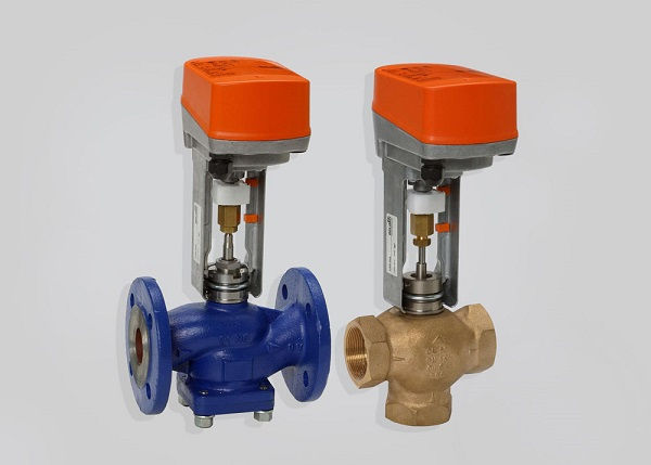 Запорные клапана с электроприводом