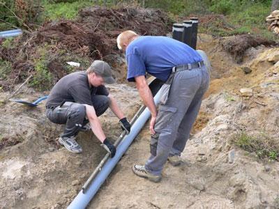 Уклон канализационных труб можно рассчитать самостоятельно