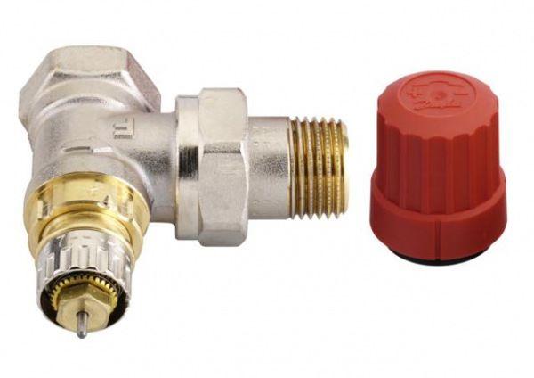 Угловой терморегулирующий клапан RA-N