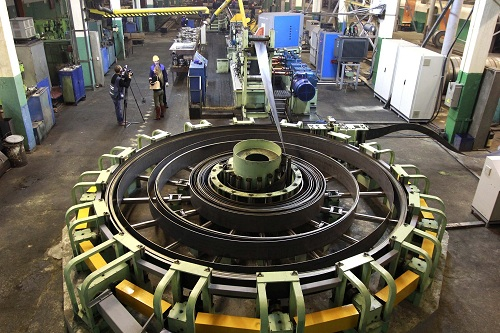 Процесс производства стальных электросварных труб