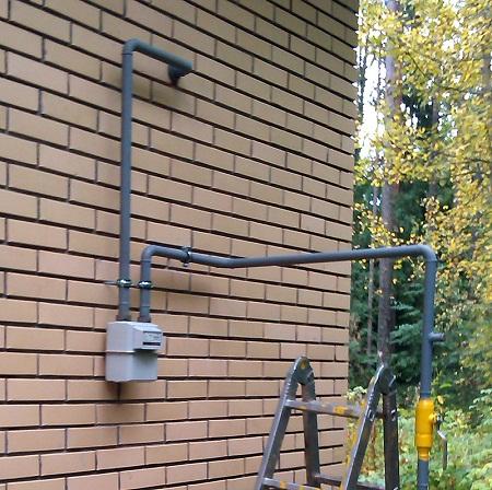 Обязательна установка газового счетчика