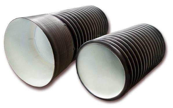 Гофротрубы для вентиляции с гладкими внутренними стенками