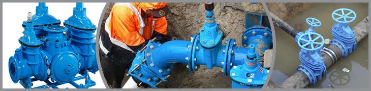 Фланцевое соединение делает подключение задвижки и трубопровода максимально надежным