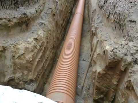 Гофрированные канализационные трубы имеют долгий срок службы