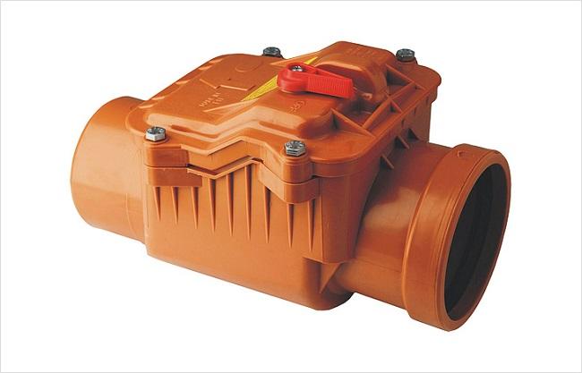 Обратный канализационный клапан