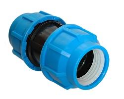 Пластиковый фитинг для полиэтиленовых труб