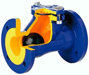 Фланцевый шаровый клапан