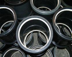 ПНД муфты крупного диаметра на складе