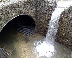 Водопропускная труба для отвода воды