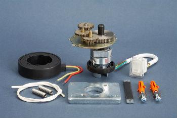 Составляющие привода для клапана