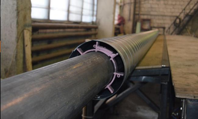 Процесс производства ППУ трубы