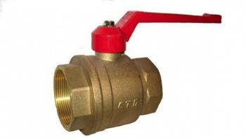 Образец латунного муфтового клапана